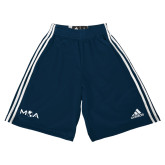 Adidas Climalite Navy Practice Short-MOA Letters Only