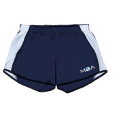 Ladies Navy/White Team Short-MOA Letters Only