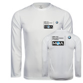 Syntrel Performance White Longsleeve Shirt-BMW MOA
