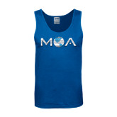 Royal Tank Top-MOA Letters Only