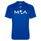 Under Armour Royal Tech Tee-MOA Letters Only