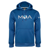 Under Armour Royal Performance Sweats Team Hood-MOA Letters Only