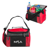 Edge Red Cooler-MOA Letters Only