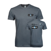 Next Level SoftStyle Charcoal T Shirt-MOA