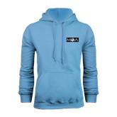 Light Blue Fleece Hood-MOA