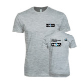 Next Level SoftStyle Heather Grey T Shirt-MOA