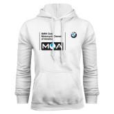 White Fleece Hood-BMW MOA