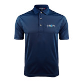 Navy Dry Mesh Polo-MOA Letters Only