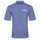Nike Golf Dri Fit Royal Heather Polo-MOA Letters Only