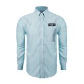 Mens Light Blue Oxford Long Sleeve Shirt-MOA