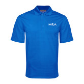 Royal Mini Stripe Polo-MOA Letters Only