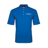 Nike Golf Dri Fit Royal Micro Pique Polo-MOA Letters Only