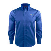 Red House French Blue Dobby Long Sleeve Shirt-MOA Letters Only