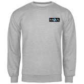 Grey Fleece Crew-MOA
