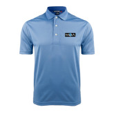 Light Blue Dry Mesh Polo-MOA