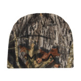 Mossy Oak Camo Fleece Beanie-MOA Letters Only