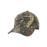 Mossy Oak Camo Structured Cap-MOA Letters Only