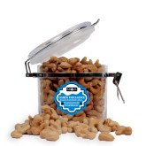 Cashew Indulgence Round Canister-MOA Letters Only