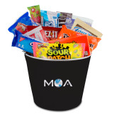 Metal Gift Bucket w/Neoprene Cover-MOA Letters Only
