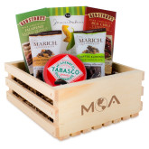 Wooden Gift Crate-MOA Letters Only Engraved