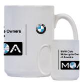 Full Color White Mug 15oz-BMW MOA