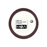 Round Coaster Frame w/Insert-BMW MOA