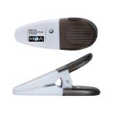 White Crocodile Clip/Magnet-BMW MOA