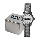Ladies Stainless Steel Fashion Watch-MOA
