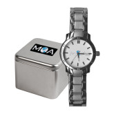 Ladies Stainless Steel Fashion Watch-MOA Letters Only