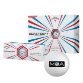 Callaway Supersoft Golf Balls 12/pkg-MOA