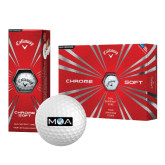 Callaway Chrome Soft Golf Balls 12/pkg-MOA