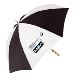 62 Inch Black/White Umbrella-BMW MOA
