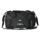High Sierra Black Switch Blade Duffel-MOA Letters Only