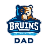 Dad Decal-Official Logo, 6 in Tall
