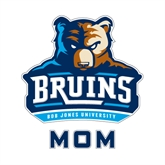 Mom Decal-Official Logo, 6 in Tall