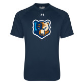 Under Armour Navy Tech Tee-Bruin Head