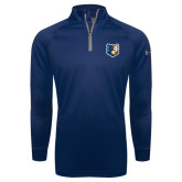 Under Armour Navy Tech 1/4 Zip Performance Shirt-Bruin Head