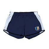 Ladies Navy/White Team Short-Bruin Head