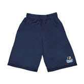 Russell Performance Navy 9 Inch Short w/Pockets-Official Logo