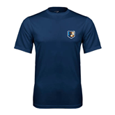 Syntrel Performance Navy Tee-Bruin Head