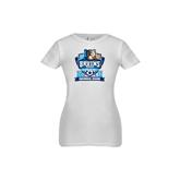 Youth Girls White Fashion Fit T Shirt-Inaugural Season