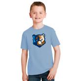 Youth Light Blue T Shirt-Bruin Head
