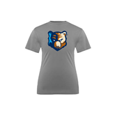 Youth Syntrel Performance Steel Training Tee-Bruin Head