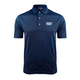 Navy Dry Mesh Polo-Arched Bruins Shield