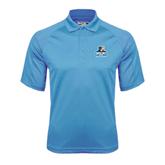 Carolina Blue Dri Mesh Pro Polo-Official Logo