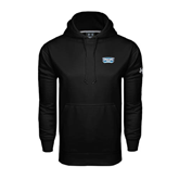 Under Armour Black Performance Sweats Team Hoodie-Arched Bruins Shield