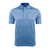 Light Blue Dry Mesh Polo-Arched Bruins Shield