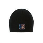 Black Knit Beanie-Bruin Head