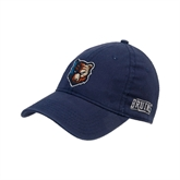 Navy Twill Unstructured Low Profile Hat-Bruin Head