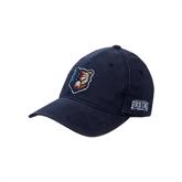 Navy OttoFlex Unstructured Low Profile Hat-Bruin Head